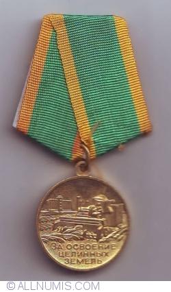 "Image #1 of Medal ""For the Development of Virgin Lands"""