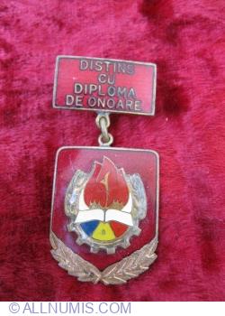 Image #1 of Distins cu diploma de onoare