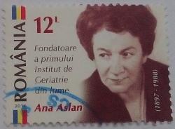 Image #1 of 12 Lei 2016 - Ana Aslan (1897-1988)