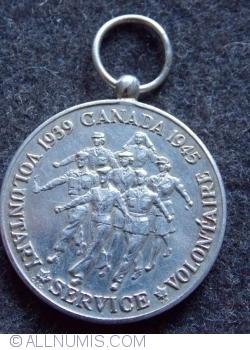 Imaginea #1 a Medalia voluntarilor 1939-1945