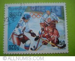 Imaginea #1 a 0.50 Riel - Ice Hockey