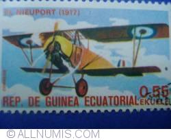 0.55 ekuele - el nieuport 1917