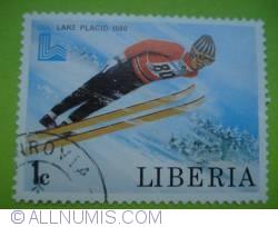 Image #1 of 1 Cent - Lake Placid 1980 - Ski Jump
