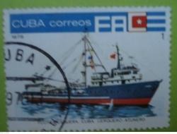 Image #1 of 1 Centavo - Flota Pesquera Cuba