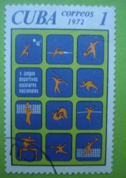 Image #1 of 1 Centavo - x juegos deportivos escolares nacionales