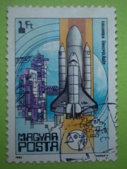 Image #1 of 1 Forint - Columbia shuttle, 1981