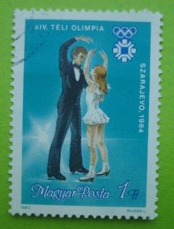 1 Forint - Szarajevo 1984