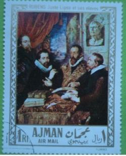 Image #1 of 1 Riyal 1968 - Rubens - Juste Lipse și studenții săi