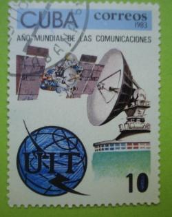 Image #1 of 10 Centavos - Ano Mundial de las Comunicaciones