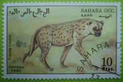 Image #1 of 10 Ptas. 1990- Spotted hyena (Crocuta crocuta)