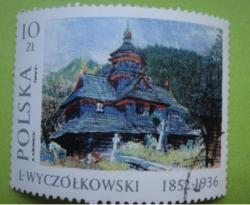 Image #1 of 10 Zlotych - Leon Wyczolkowski (1852-1936) - Wood Church, 1910