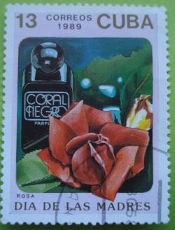 Image #1 of 13 Centavos 1989 - Trandafir