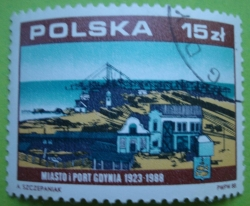 Image #1 of 15 Złotych 1988 - 65th anniversary of Gdynia city and port