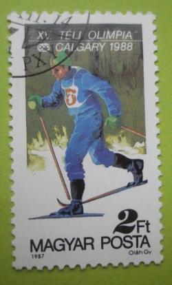2 Forint - Calgary1988 - Ski fond