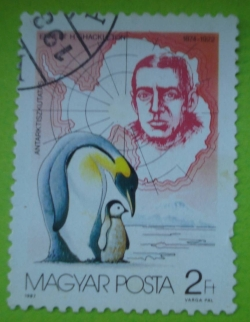 Imaginea #1 a 2 Forint - Ernest H. Shackleton