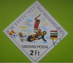 2 Forint - Switzerland 1954 - Hungary-West-Germany