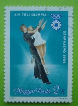 2 Forint - Szarajevo 1984