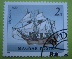 Imaginea #1 a 2 Forint - Mayflower 1620