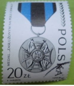 Image #1 of 20 Złotych 1988 - Medal for service on the field of honour (1943)