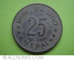 25 MINI CASINO MERAL