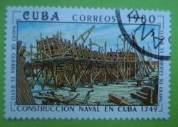 Image #1 of 3 Centavos - Navio de Guerra El Rayo