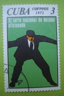 Image #1 of 3 Centavos -XI Serie nacional de beisbol aficionado