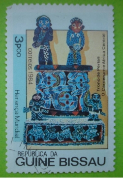 Image #1 of 3 Pesos - Pearl Throne (Cameroon)