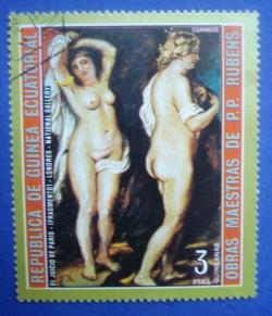3 Pesetas - Rubens - El Juicio De Paris