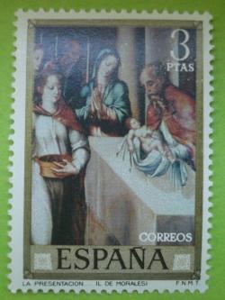 Image #1 of 3 Pesetas - Luis de Morales - The Presentation