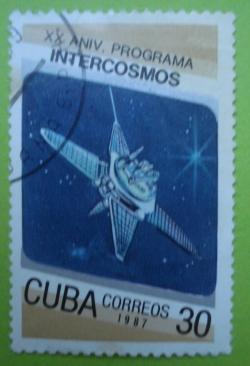 Image #1 of 30 Centavos - Intercosmos