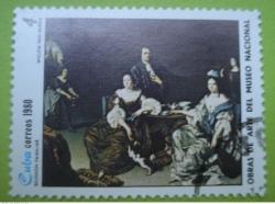 Image #1 of 4 Centavos - Reunion Familiar - Willem van Mieris