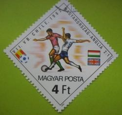 Image #1 of 4 Forint - Chile 1962 - Hungary-England