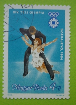 Imaginea #1 a 4 forint-Szarajevo 1984