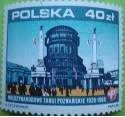 40 Złotych 1988 -  The International Poznań Trade Fair 1928-1988