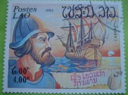 Image #1 of 4 Kip 1983 - Cabral și o caravelă