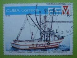 Image #1 of 5 Centavos - Flota Pesquera Cuba