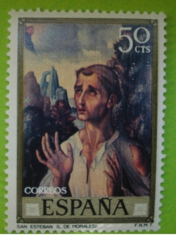 Image #1 of 50 Centimos - Luis de Morales - San Esteban