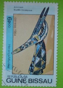 Image #1 of 6 Pesos - Antelope Head (Sudan)