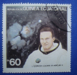 Image #1 of 60 Ekuele - L.Gordon Cooper JR Mercury 9