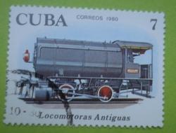 Image #1 of 7 Centavos - Locomotoras Antiguas