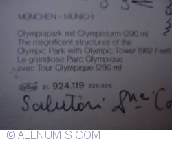 Image #2 of München - Olympic Park and Olympic Tower