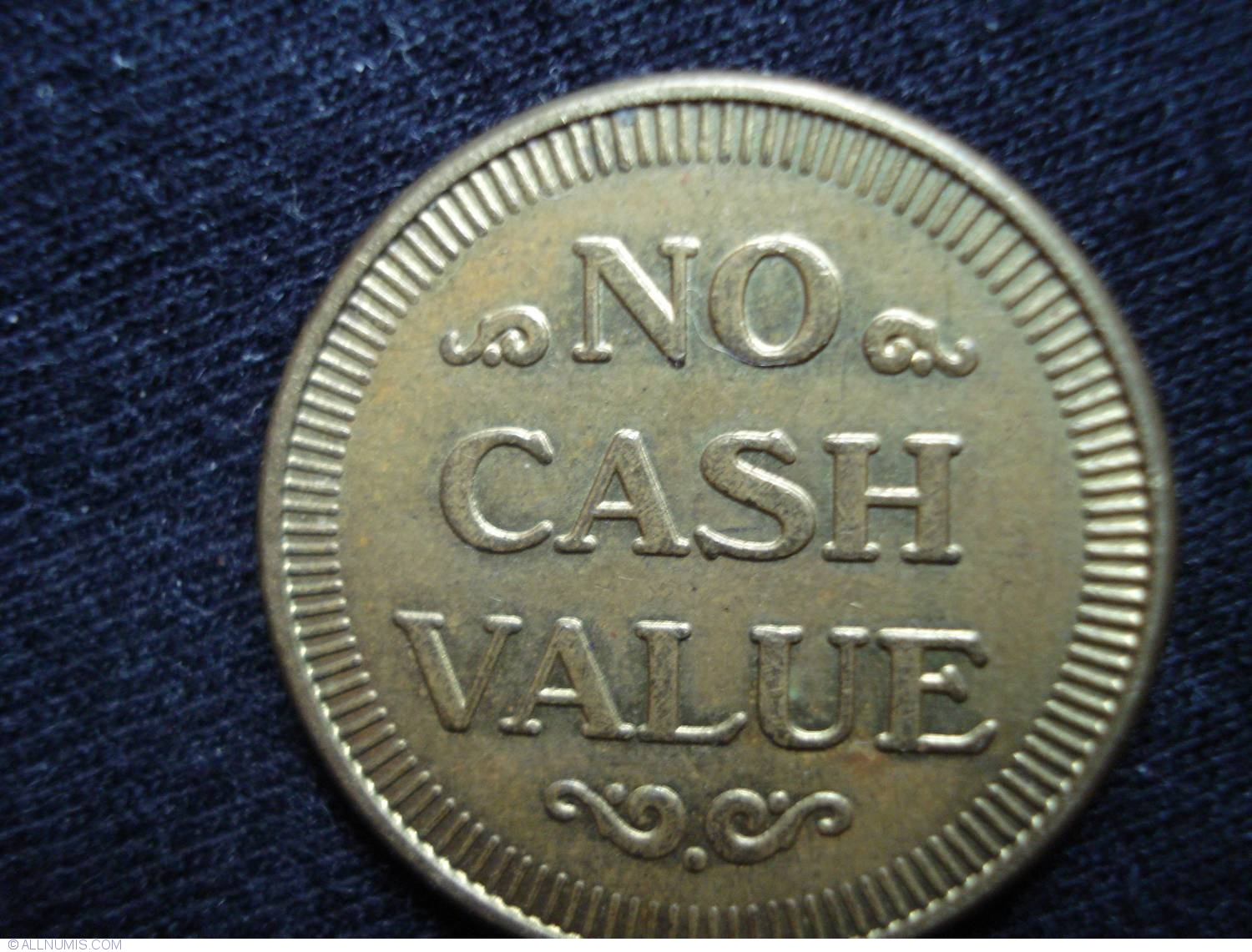 No Cash Value Laser One Business Tokens United States