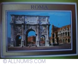 Image #1 of Roma - Constantine's Arch. Colosseum