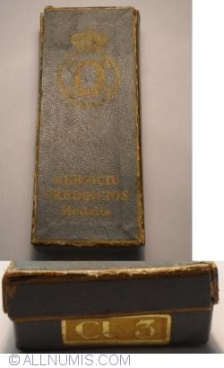 Image #2 of Medalia Serviciul Credincios Clasa a III-a