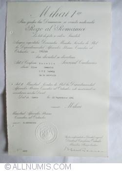 Medalia Serviciul Credincios Clasa a III-a
