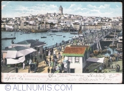 Image #1 of Constantinopole - Galata Bridge (1905)