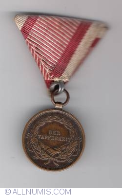 Image #1 of The Medal for Bravery (Tapferkeitsmedaille) bronze  4th class