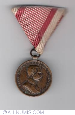 Image #2 of The Medal for Bravery (Tapferkeitsmedaille) bronze  4th class