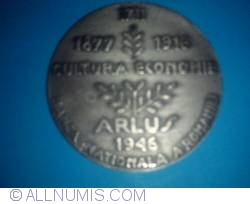 Image #1 of ARLUS Medal - Romanian-Soviet Friendship 1946