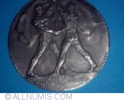 Image #2 of ARLUS Medal - Romanian-Soviet Friendship 1946